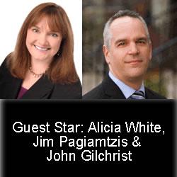 Alicia, Jim & John