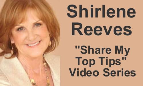 Shirlene Reeves: Tip #3